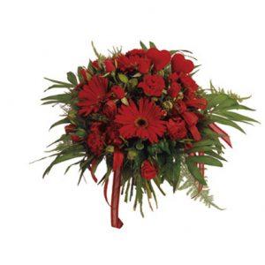פרחים אדומים