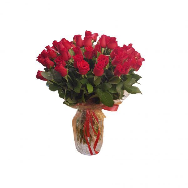 פרחי גורדון אגרטל ורדים