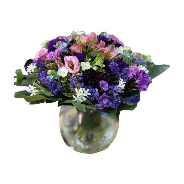 פרחי גורדון זר ציבעוני ושמח