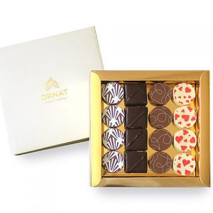 Pack of 16 pralines