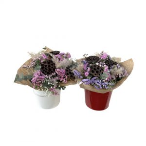 A pair of bouquets